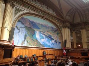 スイス・ベルンの連邦議事堂