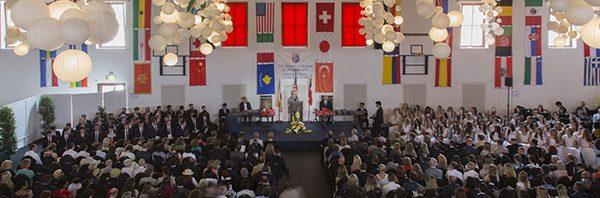 TASISアメリカンスクールの卒業式
