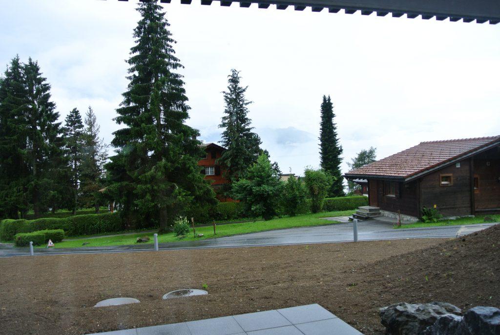建物から見える光景