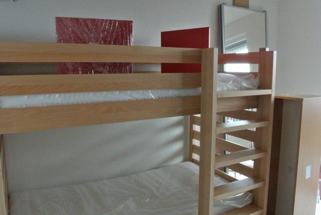 寮室・ベッド