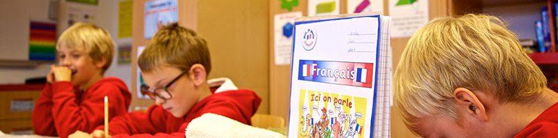ラ・ガレン校のフランス語の強化クラス