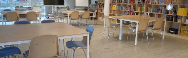 ル・リージェントの図書室とレクリエーション室の様子