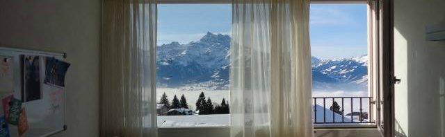 スイスの土地柄で違う天気