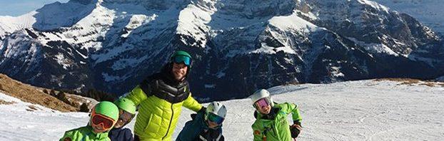 コレージュ・シャンピテ水曜午後はスキー