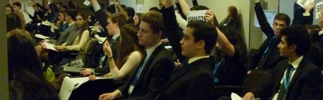 模擬国連に参加したブリヤモン校の生徒の感想
