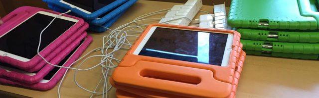 低年齢クラスからIT機器を使用