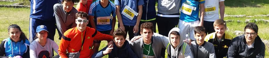ル・ロゼ校のマラソン大会