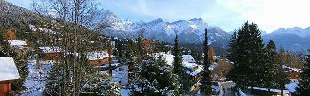 ラ・ガレン校の雪景色