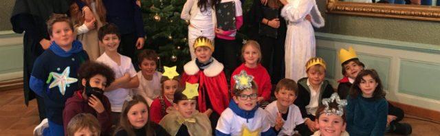 モンタナ・ツーゲルベルク校のクリスマスミュージカル