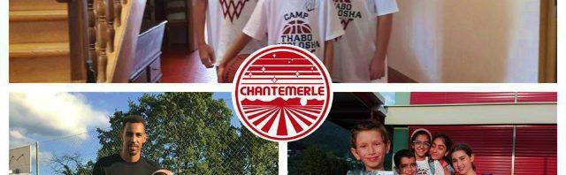 シャントメルレ校サマースクールでバスケットを学ぶ