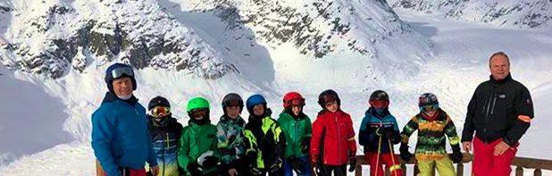コレージュ・シャンピテのスキーキャンプ