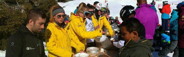 レ・ゼルフ・キャンプ専門校 スイスの冬を満喫中