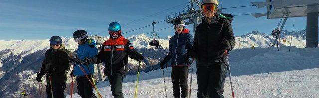 冬はスイスでスキーを満喫!!