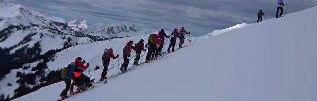 エイグロン・カレッジとコレージュ・ボー・ソレイユ合同スキー遠征