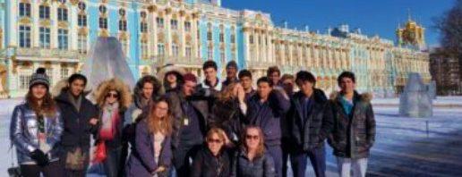 ロシアのサンクトペテルブルクへ行った子供達のリポート