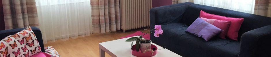 インスティテュート・モンテ・ローザ校の施設紹介②-食堂、寮、コモンルーム-