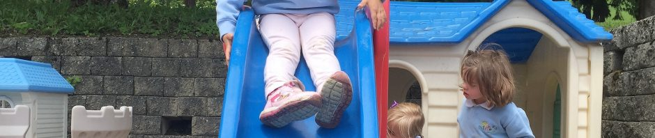 プレフルーリに留学中のヒメちゃん(4歳)