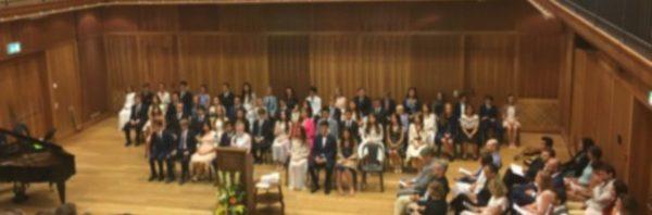 タシス・アメリカン・スクール中等部の卒業式に出席してきました!