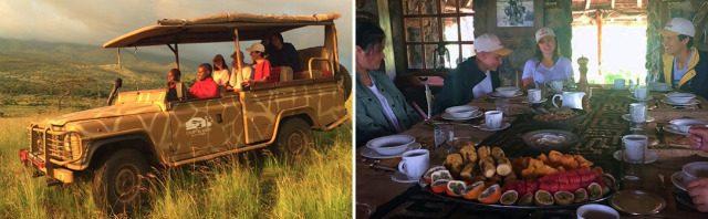 ル・ロゼ校 ケニアのマサイ族と過ごす