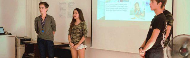 タシス校 サマースクールで初の起業家プログラム