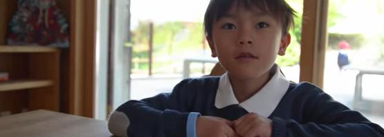 ラ・ガレン 体験をされた7歳のお子様にインタビュー