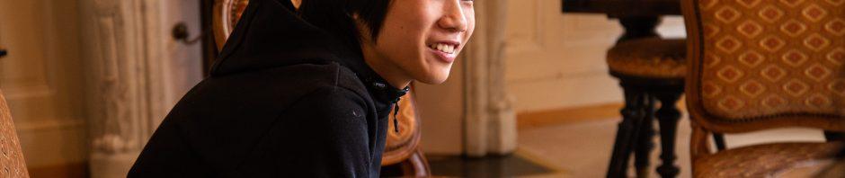 インスティテュート・モンテ・ローザ 正規留学中マサト君(13歳)訪問