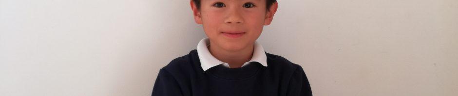 のびのびとした環境「プレフルーリ」の リョウ君 (7歳) 訪問