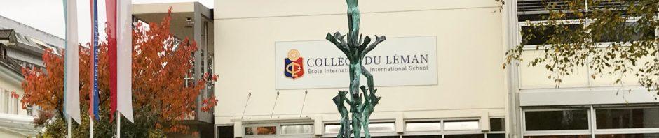 留学中のお子様を訪問:コレージュ・ドゥ・レマン(CDL)