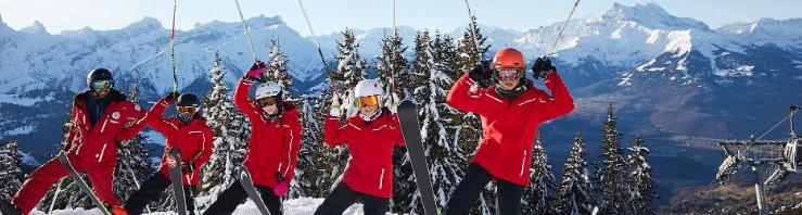 ラ・ガレンのスキー休暇