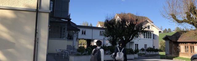 中学2年生&3年生、お子様お二人のモンタナ校でのスイス留学スタートをお手伝い!